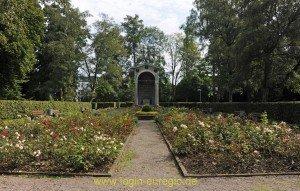 Stadtgarten Aachen mit Kongressdenkmal