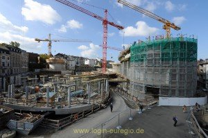 Baustelle Kaiserplatz-Galerie