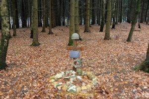 Hemingway Trail Gedenkkreuz