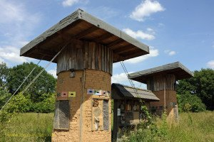 Insektenhaus beim der NABU-Station Haus Wildenrath