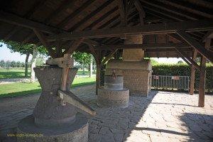 Xanten - archäologischer Park - Kornmühlen