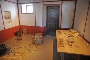 Xanten - Archäologischer Park - im Handwerkerhaus