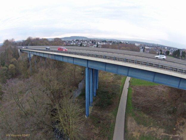 Haarbachtalbrücke am 19.01.2014 Quelle: Schloemer/HV Haaren