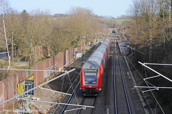 RE 9 auf der Fahrt von Siegen nach Aachen
