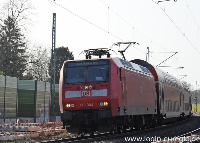 RE 9 auf der Fahrt von Aachen nach Siegen