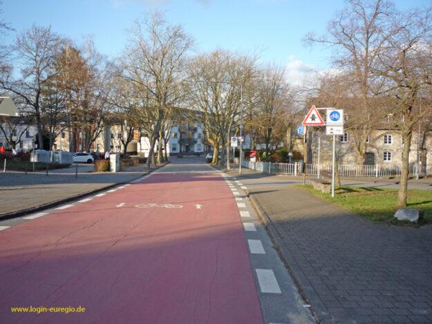 Eilendorf Marienstraße Fahrradstraße