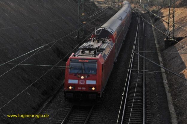 RE 1 Hamm Haltepunkt Eilendorf